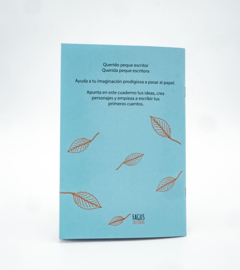 Cuaderno de ideas trasera